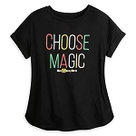 Disney Women's Shirt - Walt Disney World - Choose Magic