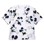 Disney Women's Shirt - Mickey Mouse Pastels