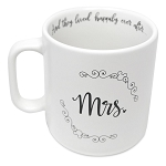 Disney Coffee Cup Mug - Mickey Mouse Icon Wedding - Mrs.