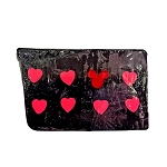 Disney Basin Soap - Pink Hearts and Mickey Icon in Black
