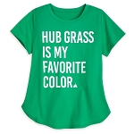 Disney Women's Shirt - Hub Grass Is My Favorite Color