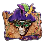 Universal Studios Orlando Pin - Mardi Gras - Party Like a Pirate