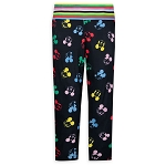 Disney Women's Leggings - Colorful Mickey Mouse