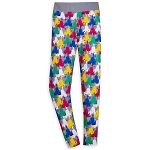 Disney Women's Leggings - Colorful Cinderella Castle