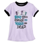 Disney Girls Shirt - The Haunted Mansion Singing Busts
