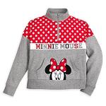 Disney Girls Zip Pullover - Walt Disney World - Minnie Mouse