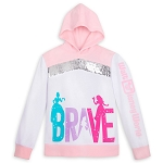 Disney Girls Pullover Hoodie - Princess - BRAVE