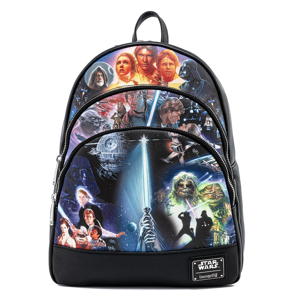 Disney Loungefly Mini Backpack - Star Wars Original Trilogy Backpack
