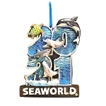 SeaWorld Ornament - 2021 Orca, Beluga, Dolphin, Shark, Turtle, Penguins