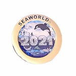 SeaWorld Pin - 2021 SeaWorld Logo Special Edition