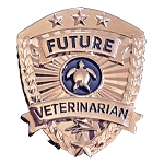 SeaWorld Pin - Future Veterinarian Badge