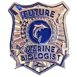 SeaWorld Pin - Future Marine Biologist Badge