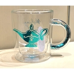 Disney Glass Mug w/ Confetti Handle - Jasmine - Wishing For the Weekend
