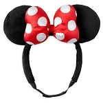 Disney Adjustable Ear Headband - Adaptable Fit - Classic Minnie Mouse
