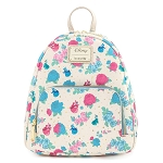 Disney Loungefly Mini Backpack - Sleeping Beauty Floral Fairy Godmothers Mini Backpack AOP