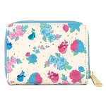 Disney Loungefly Wallet - Sleeping Beauty Floral Fairy Godmothers Zip Around Wallet