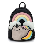 Loungefly Mini Backpack - Pusheen Rainbow Unicorn
