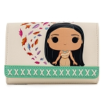 Disney Loungefly Wallet - Pocahontas Meeko Flit Earth Day
