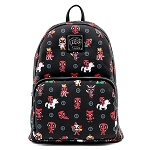 Marvel Loungefly Backpack - Marvel Deadpool 30th Anniversary AOP