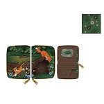Disney Loungefly Zip Around Wallet - Fox and Hound Todd and Copper