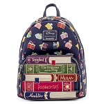 Disney Loungefly Mini Backpack - Princess Books AOP