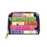 Disney Loungefly Wallet - Princess Books Zip Around Wallet