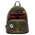 Disney Loungefly Mini Backpack - Star Wars Boba Fett Cosplay Mini Backpack