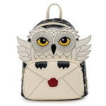 Loungefly Mini Backpack - Harry Potter Hedwig Howler Cosplay Mini Backpack