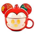 Disney Figural Mug with Lid - Mickey Mouse - Lunar New Year 2021