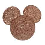 Disney Antenna Topper - Rose Gold Glitter Mickey Head