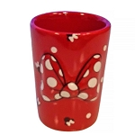 Disney Shot Glass - Minnie Mouse Bow and Icons