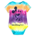 Disney Baby Bodysuit - Walt Disney World - Mickey Mouse Tie-Dye