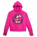 Disney Women's Pullover Hoodie - Walt Disney World - Mickey Mouse - Pink