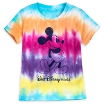 Disney Toddler Shirt - Walt Disney World - Mickey Mouse - Tie-Dye