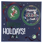 Disney Happy Holidays Pin and Ornament Set - 2020 Happiest Holiday On Earth - Passholder