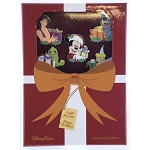 Disney Christmas Box Pin Set - Mystery Reveal/Conceal - Mickey and Friends Gifts - LE 1000