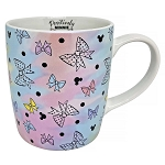Disney Coffee Cup Mug - Positively Minnie Bow Pastel