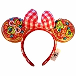 Disney Minnie Ears Headband - Epcot Italy Pizza