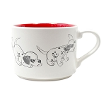 Disney Coffee Cup - Animation Sketch - 101 Dalmatians - Patch