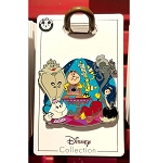 Disney Pin - Beauty and the Beast Family