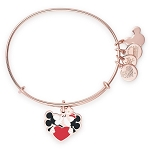 Disney Alex and Ani Bracelet - Mickey and Minnie Mouse Kissing