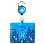 Disney Loungefly Retractable Card Holder - Mickey Mouse Balloons
