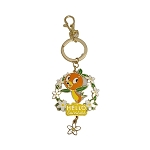 Disney Keychain - Epcot Flower and Garden Festival 2021 - Orange Bird - Hello Sunshine