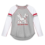 Disney Women's Raglan Shirt - Walt Disney World - Mickey and Minnie Mouse Newsprint