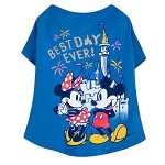 Disney Tails Dog Shirt - Mickey and Minnie Mouse - Best Day Ever
