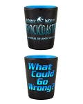 Universal Studios Shot Glass - Jurassic World - VelociCoaster