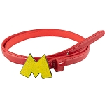Disney Designer Enamel Cast Buckle Belt - Mickey Mouse