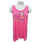 Disney Women's Shirt - Epcot Flower and Garden Festival 2021 - Minnie Mouse - Tank Top w/ Bow