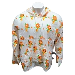 Disney Adult Pullover Windbreaker - Spirit Jersey - Epcot Flower and Garden Festival 2021 - Orange Bird
