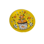 Disney Map w/ Stickers and Plate Set - Epcot Flower and Garden Festival 2021 - Orange Bird